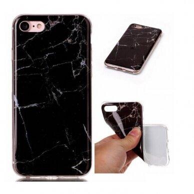 """Akcija! Iphone 11 Pro TPU dėklas """"unikaliu dizainu 1.0 mm """"u-case Airskin Marble 3 design 5"""
