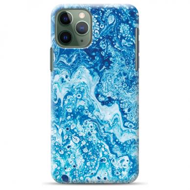 """Akcija! Iphone 11 Pro TPU dėklas """"unikaliu dizainu 1.0 mm """"u-case Airskin Marble 3 design"""