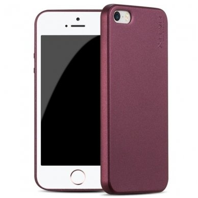 IPHONE 5/ 5S /SE DĖKLAS X-LEVEL GUARDIAN 0,6 MM SILIKONAS BORDO