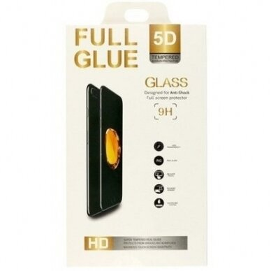 """Akcija! Iphone 6\6s ekrano apsauga lenktas apsauginis stiklas """"Full Glue""""H Pro 5D H9+ baltais kraštais 2"""