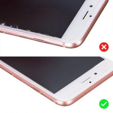 Akcija! Xiaomi Mi 10T lite GRŪDINTO STIKLO EKRANO APSAUGA Wozinsky Nano Flexible Glass 4