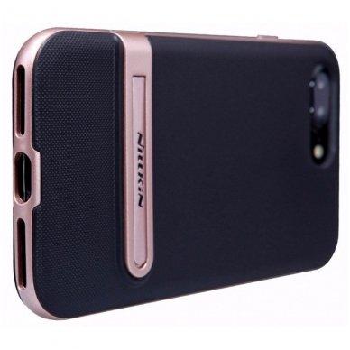 Iphone 7 Plus / 8 plus dėklas nillkin Youth juodas - rožinis 2