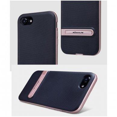 Iphone 7 Plus / 8 plus dėklas nillkin Youth juodas - rožinis 3