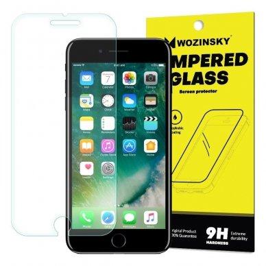 Akcija! Iphone X / XS lenktas grūdintas apsauginis stiklas wozinsky H Pro 3D skaidriais kraštais