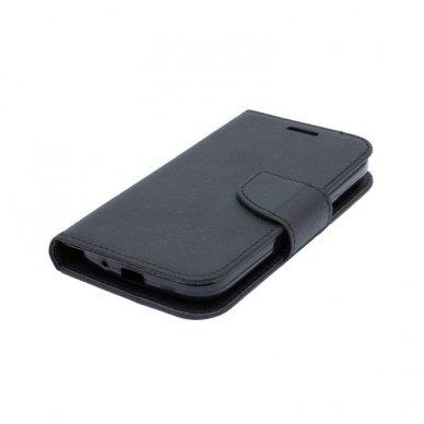 iphone xr atverčiamas dėklas smart fancy eko oda juodas 2