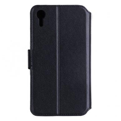 iphone xr dėklas nillkin folio 2in1 pu oda juodas 2