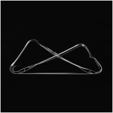 iphone xr dėklas HOCO silikonas 0,7mm skaidrus 3