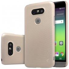 LG G5 dėklas Nillkin frosted PC plastikas smėlinis