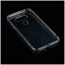 LG G5 dėklas Skaidrus 0,3mm SILIKONINIS