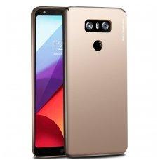 LG G5 dėklas X-LEVEL GUARDIAN silikonas aukso spalvos