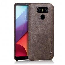 LG G5 dėklas X-LEVEL VINTAGE eko oda RUDAS
