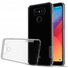 LG G6 dėklas Nillkin Nature permatomas 0,6 mm TPU