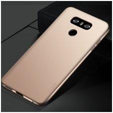 LG G6 dėklas X-LEVEL GUARDIAN silikonas aukso spalvos
