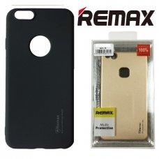 LG Q7 Dėklas REMAX matinis, juodas
