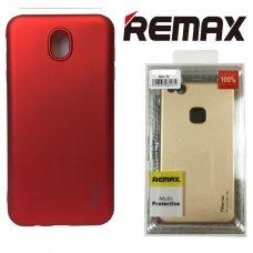 LG Q7 Dėklas REMAX matinis, raudonas