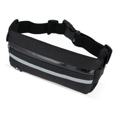 Dėklas ant juosmens Elastic Sport Case juodas (2 dizainai) 8