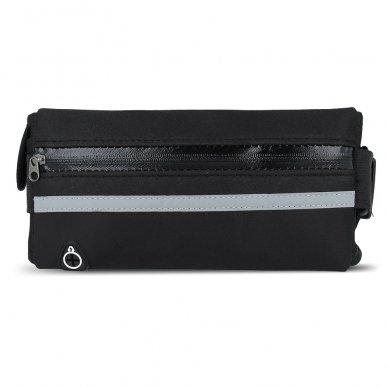 Dėklas ant juosmens Elastic Sport Case juodas (2 dizainai) 9