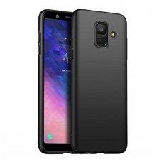 Samsung galaxy j6 plus 2018 DĖKLAS RUBBER TPU JUODAS