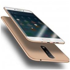NOKIA 5 dėklas X-LEVEL GUARDIAN silikonas aukso spalvos