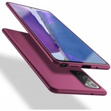 samsung galaxy s20 fe dėklas X-LEVEL GUARDIAN silikonas bordo