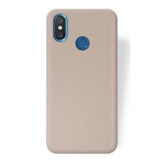 Xiaomi mi 8 dėklas jelly flash mat silikonas auksinis