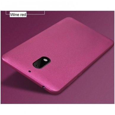 Nokia 6.1 2018 dėklas X-LEVEL GUARDIAN silikonas bordo 5