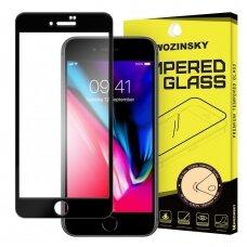 Akcija! Iphone se 2020/iphone 7/ iphone 8 stiklas Wozinsky Tempered Glass Full Glue juodais kraštais