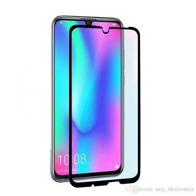 Huawei p smart 2019 APSAUGINIS STIKLIUKAS  FULL GLUE H PRO 5D H9+, LENKTAS APSAUGINIS STIKLAS TEMPERED GLASS JUODAS