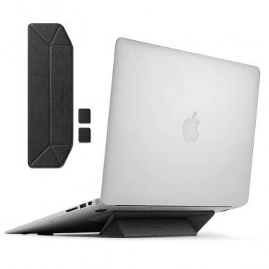 Akcija! Ringke nešiojamo kompiuterio / planšetės laikiklis / stovas juodas