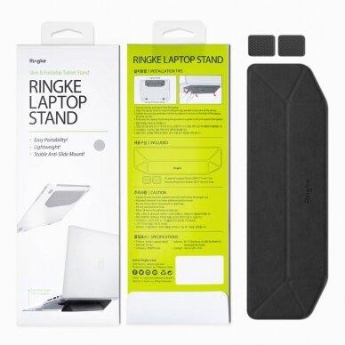 Akcija! Ringke nešiojamo kompiuterio / planšetės laikiklis / stovas juodas 2