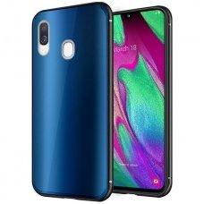 """Samsung a40 Dėklas """"Aurora""""  mėlynas"""