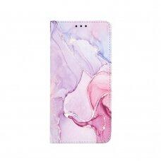 Akcija! Samsung Galaxy a02s atverčiamas dėklas smart trendy marble 3