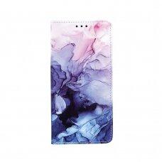 Samsung Galaxy a72 atverčiamas dėklas smart trendy marble 4