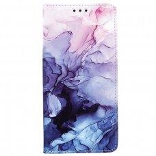 Samsung Galaxy a02s atverčiamas dėklas smart trendy marble 4