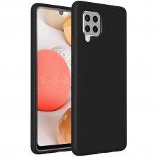 Samsung Galaxy A42 5G Dėklas Soft Case TPU gel protective case  juodas