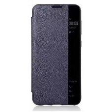 Iphone x / xs atverčiamas dėklas CLEAR WALLET mėlynas