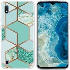 samsung galaxy a10 Cosmo Marble silicon dizainas 2