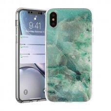 huawei y5 2019 dėklas Vennus stone tpu šviesiai žalias