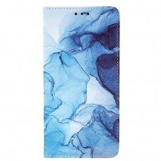 Samsung Galaxy a12 atverčiamas dėklas smart trendy marble 2
