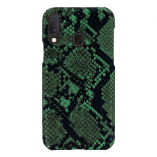 samsung galaxy a20e dėklas su gyvatės rašto imitacija Vennus WILD žalias