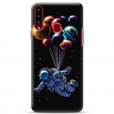 """Samsung Galaxy A20s TPU dėklas unikaliu dizainu 1.0 mm """"u-case Airskin Cosmo design"""""""
