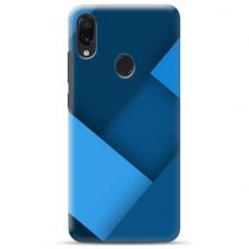 """Samsung Galaxy A20e TPU dėklas unikaliu dizainu 1.0 mm """"u-case Airskin Blue design"""""""