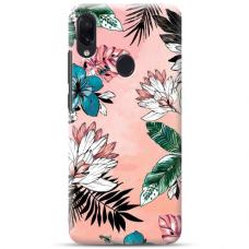 """Samsung Galaxy A20e TPU dėklas unikaliu dizainu 1.0 mm """"u-case Airskin Flowers 1 design"""""""