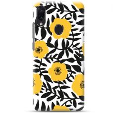 """Samsung Galaxy A20e TPU dėklas unikaliu dizainu 1.0 mm """"u-case Airskin Flowers 2 design"""""""