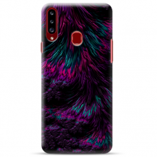 """Samsung Galaxy A20s TPU DĖKLAS UNIKALIU DIZAINU 1.0 MM 1.0 mm """"u-case airskin Feather design"""""""