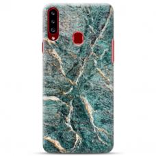 """Samsung Galaxy A20s TPU dėklas unikaliu dizainu 1.0 mm """"u-case Airskin Marble 1 design"""""""