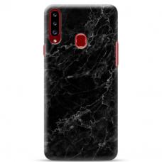 """Samsung Galaxy A20s TPU dėklas unikaliu dizainu 1.0 mm """"u-case Airskin Marble 4 design"""""""