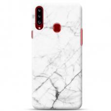 """Samsung Galaxy A20s TPU dėklas unikaliu dizainu 1.0 mm """"u-case Airskin Marble 6 design''"""