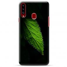 """Samsung Galaxy A20s TPU dėklas unikaliu dizainu 1.0 mm """"u-case Airskin Nature 1 design"""""""