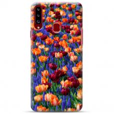 """Samsung Galaxy A20s TPU dėklas unikaliu dizainu 1.0 mm """"u-case Airskin Nature 2 design"""""""